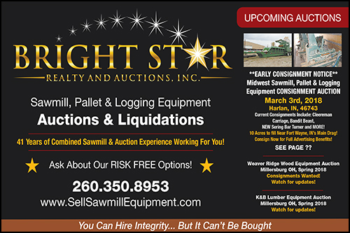 Bright Star Auctions - Sawmill Equipment
