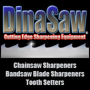 DinaSaw Sharpening Equipment