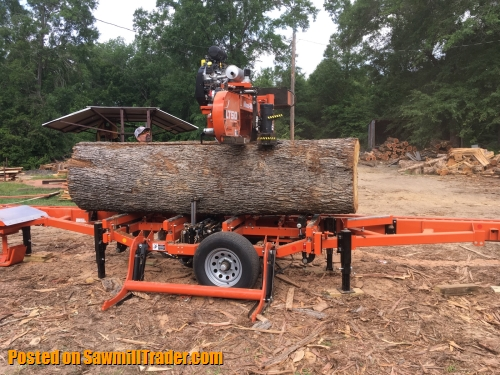 Portable Sawmill Service in East Texas - Services : Sawmill Milling