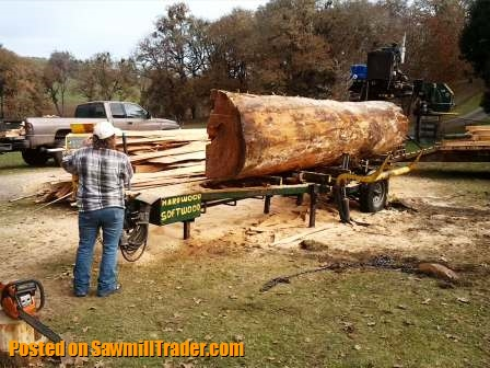 Got Logs? Portable Sawmill Services (serving all of Oregon
