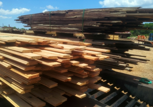 Hardwood pine soild plank flooring mill direct