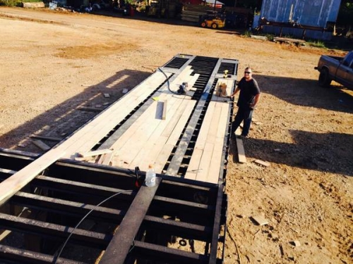 Custom Cut Lumber Mill Direct Orders To The Public