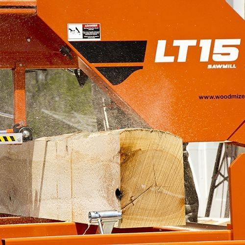 Wood-Mizer LT15 Portable Sawmill - Band Sawmills : Portable